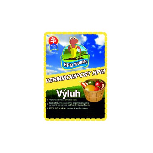 VERMIHUMUS HPM - VÝLUH 10