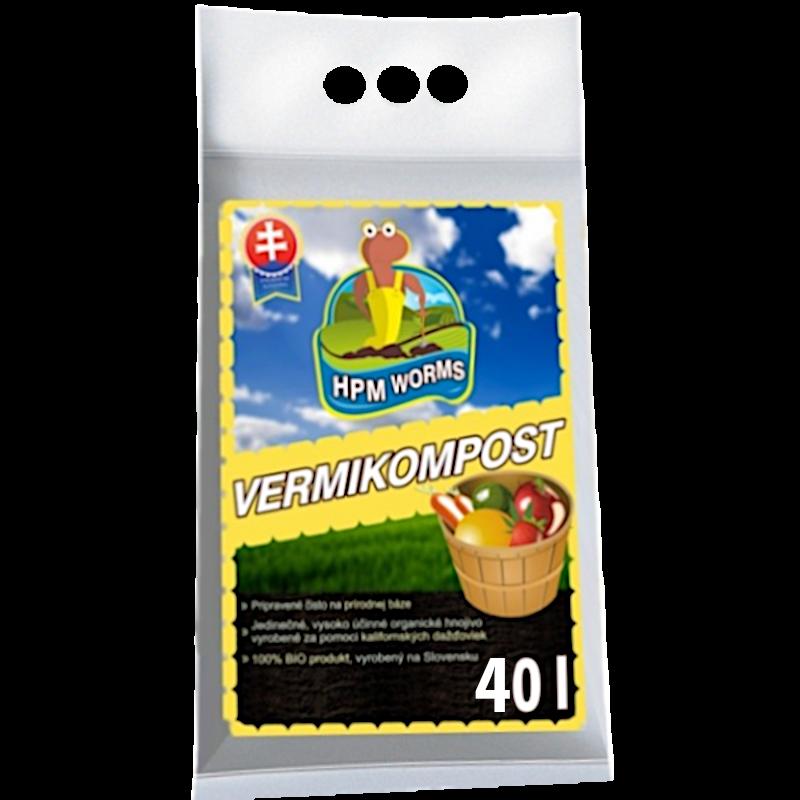 VERMIKOMPOST HPM - 40L